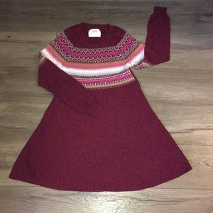 Justice sweater dress